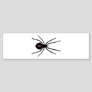Black Widow Spider Bumper Sticker