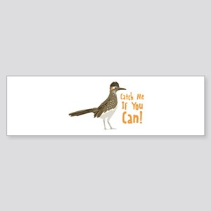 Catch Me If You Can! Bumper Sticker