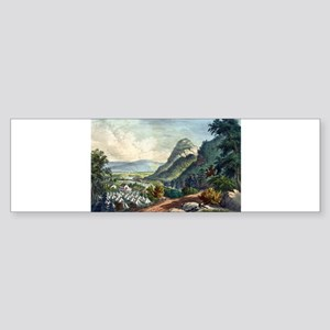 The valley of the Shenandoah - 1864 Sticker (Bumpe