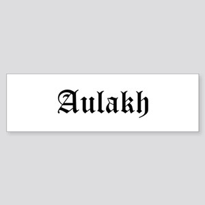 Aulakh Bumper Sticker