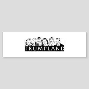 Trumpland Bumper Sticker