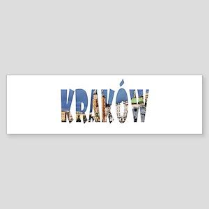 Krakow Bumper Sticker