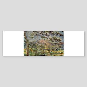 Mont Sainte Victoire Sticker (Bumper)