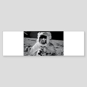 Apollo 12 Astronauts explore the Mo Bumper Sticker