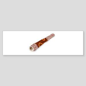 Didgeridoo Australian traditional m Bumper Sticker