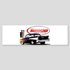 57 Chevy Dragster Sticker (Bumper)