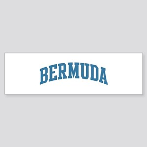 Bermuda (blue) Bumper Sticker