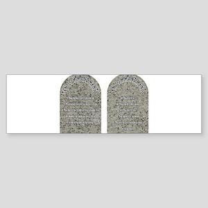 The Ten Commandments Bumper Sticker