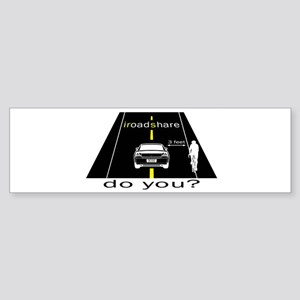 iRoadShare for Cyclists Bumper Sticker