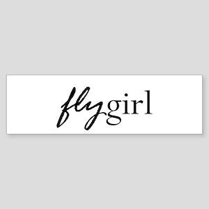 flygirl Bumper Sticker