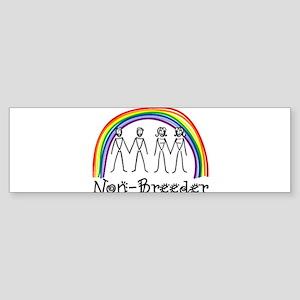 Non-Breeder Bumper Sticker
