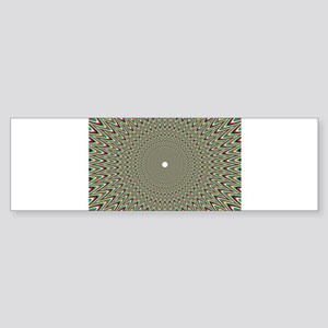 Psychedelics #2 Moving Picture Bumper Sticker