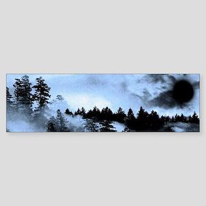 Dark Forest Bumper Sticker