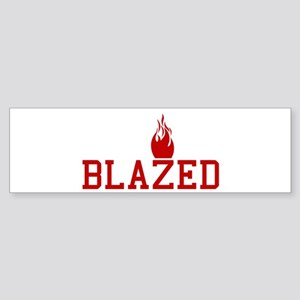 Blazed Bumper Sticker