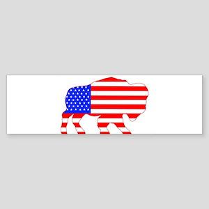 American Buffalo Bumper Sticker