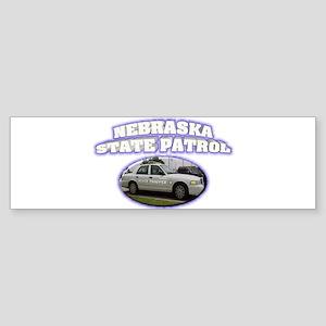 Nebraska State Patrol Sticker (Bumper)