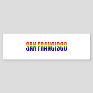 San Francisco Bumper Sticker