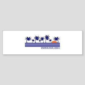 Ionian Islands, Greece Bumper Sticker