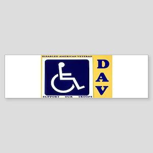 Disabled American Veteran Bumper Sticker