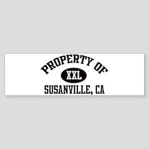 Property of SUSANVILLE Bumper Sticker