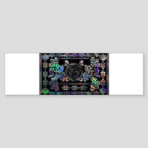 hologram Medusa Bumper Sticker