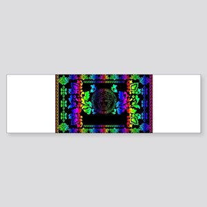 rainbow Medusa Bumper Sticker