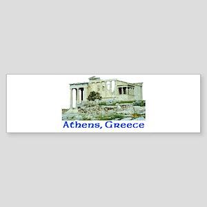Athens, Greece (Acropolis) Bumper Sticker