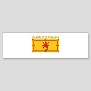 Aberdeen, Scotland Bumper Sticker