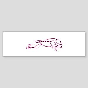 Adopt a Greyhound (Neon) Sticker (Bumper)