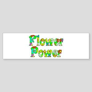 Flower Power Sticker (Bumper)