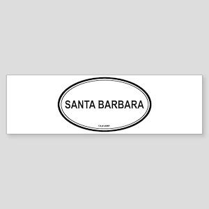Santa Barbara (California) Bumper Sticker