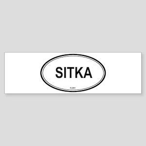 Sitka (Alaska) Bumper Sticker