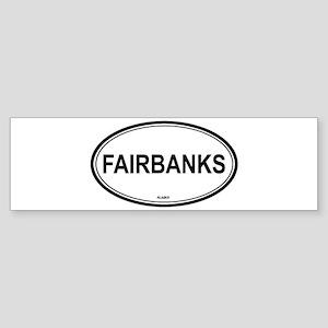 Fairbanks (Alaska) Bumper Sticker