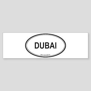 Dubai, United Arab Emirates e Bumper Sticker