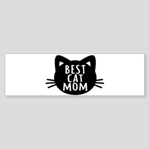 Best Cat Mom Bumper Sticker