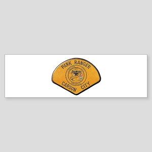 Carson City Park Ranger Bumper Sticker