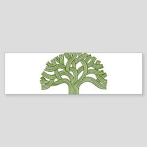 Oakland Oak Tree Bumper Sticker