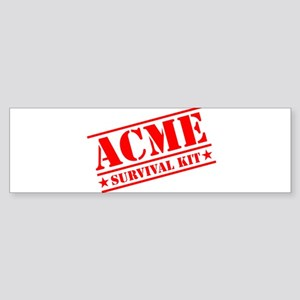 ACME Survival Kit Bumper Sticker