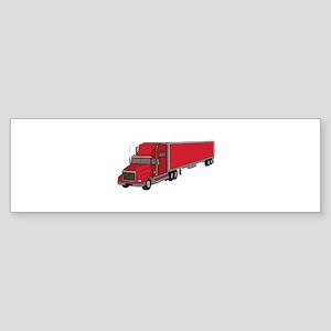 Semi-Truck 1 Bumper Sticker