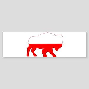 Polish Buffalo Bumper Sticker