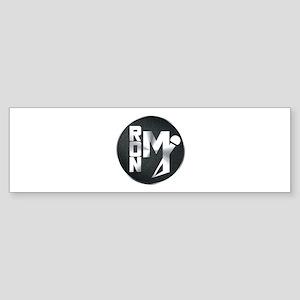 The Ron M Brand Bumper Sticker