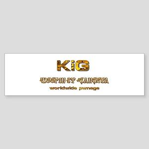 KiG 2.0 Worldwide Pwnage Bumper Sticker