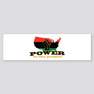 Power To People Bumper Sticker