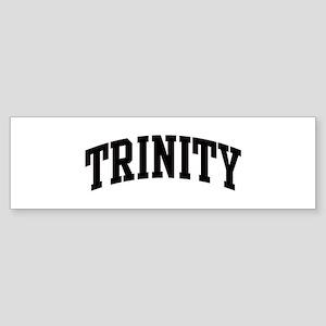 TRINITY (curve) Bumper Sticker