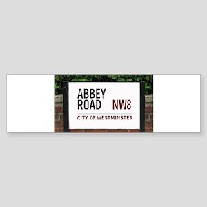Abbey Road street sign Bumper Sticker