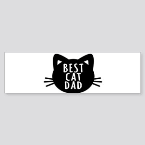Best Cat Dad Bumper Sticker