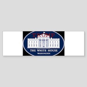 TRUMP WHITE HOUSE Bumper Sticker