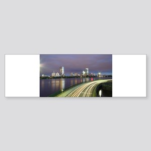 City Skyline Bumper Sticker