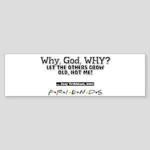 Why, God, WHY? Bumper Sticker