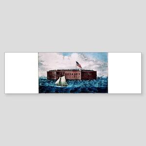 Fort Sumter - Charleston Harbor, S.C. - 1870 Stick